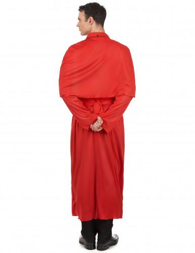Déguisement prêtre rouge adulte-2