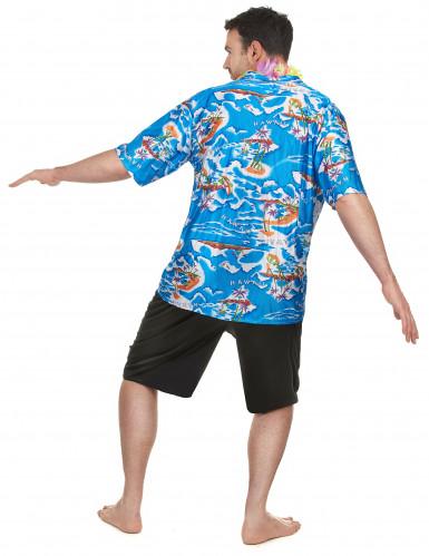 Déguisement touriste Hawaïen homme-2