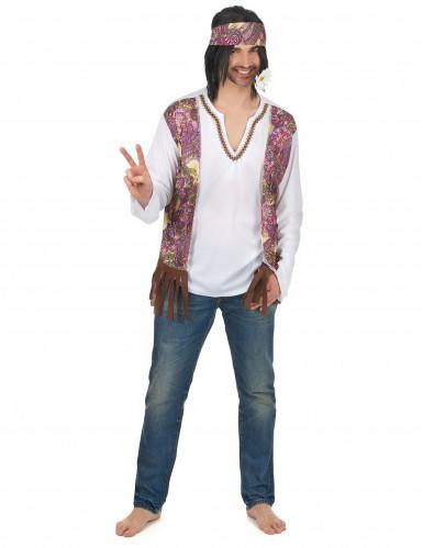 Déguisement hippie à franges homme