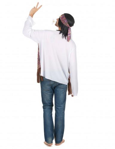 Déguisement hippie à franges homme-2