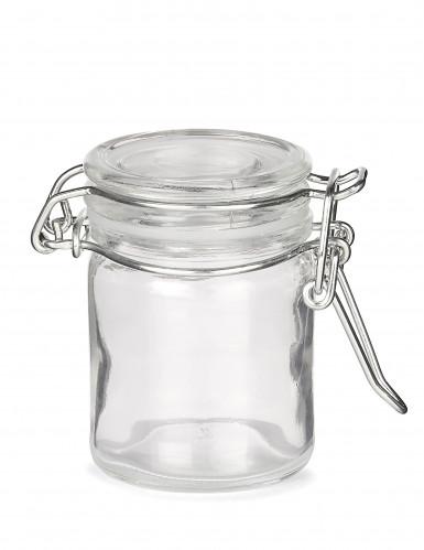 Mini bocal en verre 6 cm