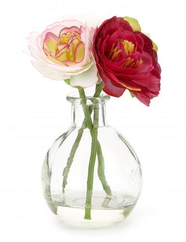 Petit vase de fleurs artificielles-2