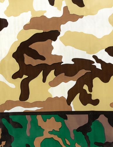 Nappe en plastique militaire 137 x 213 cm-1