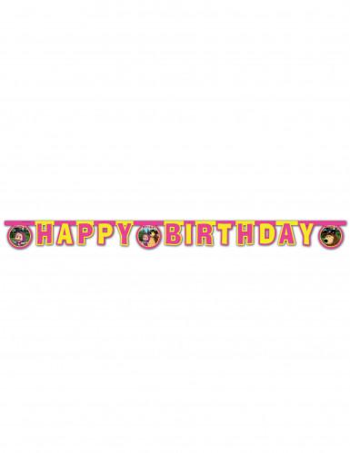 Guirlande articulée Happy Birthday Masha et Michka™ 2 mètres-1
