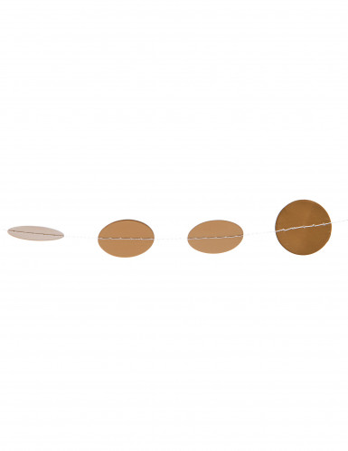 Guirlande petits pois dorés pailletés 3 m-1
