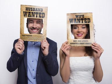 Photobooth 2 pancartes Wanted-1