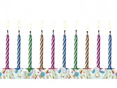 10 Bougies magiques d'anniversaire-1