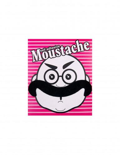 Moustache noire adhésive-1