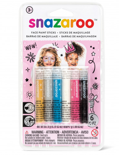 6 Sticks maquillage filles Snazaroo™