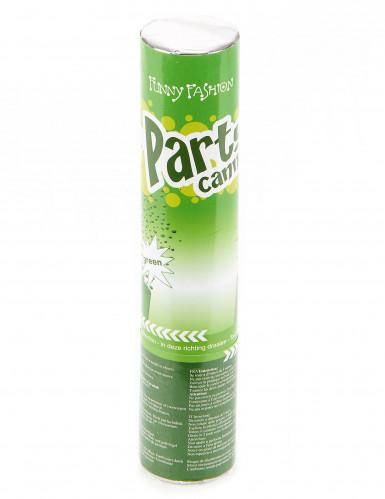 Canon à confettis verts 20 cm-1