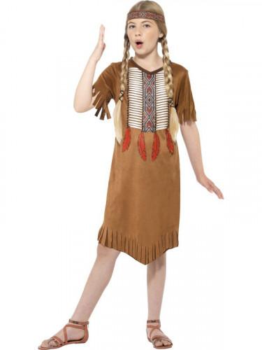 Déguisement indien apache fille