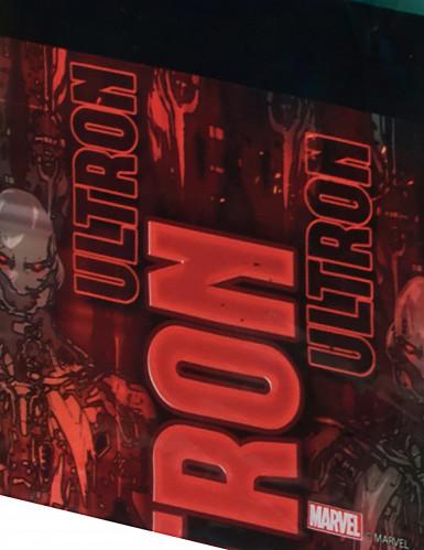 Nappe en plastique Avengers l'Ère d'Ultron™ 120 x 180 cm-1