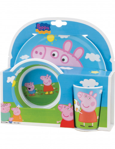 Coffret mélamine Peppa Pig™