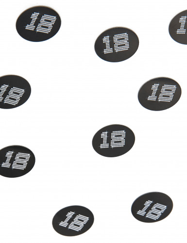 150 confettis de table VIP 18 ans