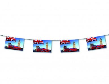 Guirlande Londres papier ignifugé 4 mètres