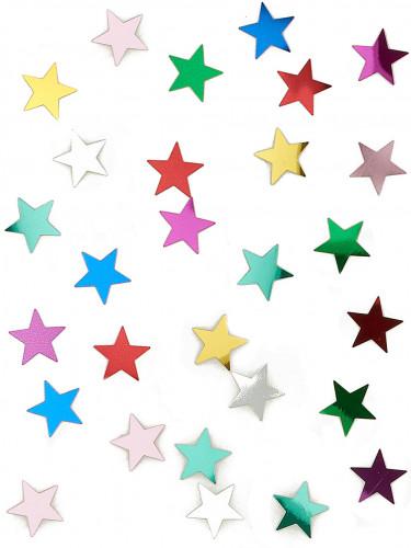 Confettis étoiles multicolores 14 g
