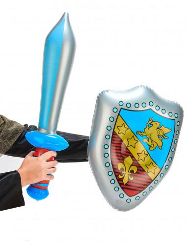 Epée et bouclier gonflables-1