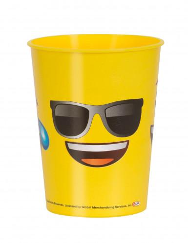 Verre en plastique visages Emoji™