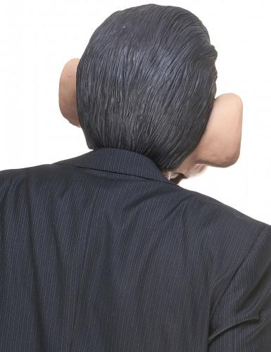 Masque humoristique en latex Nicolas adulte-1