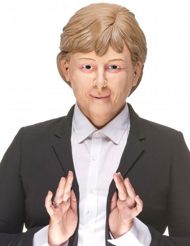 Masque humoristique en latex Angela adulte