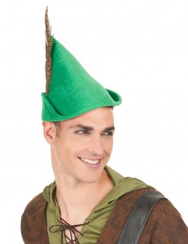 Chapeau homme des bois adulte-2