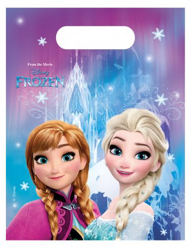 6 ♡ Frozen Inspiré Bleu Colliers ♡ Fête Sac Remplissage