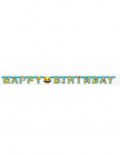 Guirlande articulée Happy Birthday Emoji™-1
