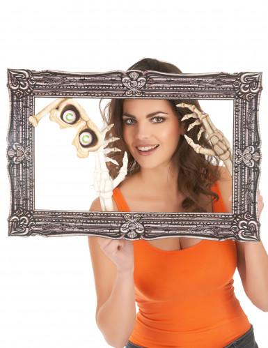Kit photobooth avec cadre Halloween 39 x 60 cm-1