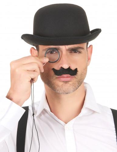 Lot de 6 moustaches adulte-1
