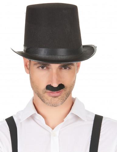Lot de 12 moustaches adulte-1