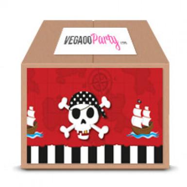 Classic Pack Anniversaire Carte au trésor Pirate