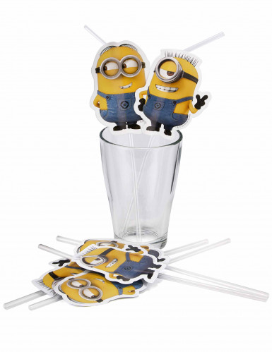 6 Pailles Lovely Minions™-1