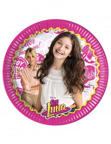 8 Assiettes en carton Soy Luna™ 23 cm