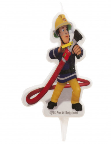 Bougie d'anniversaire Sam le pompier™