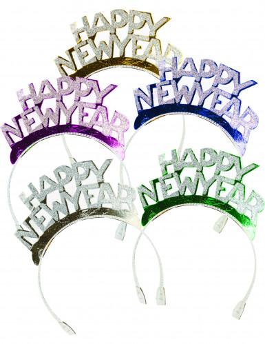 4 Serre-tête Happy New Year