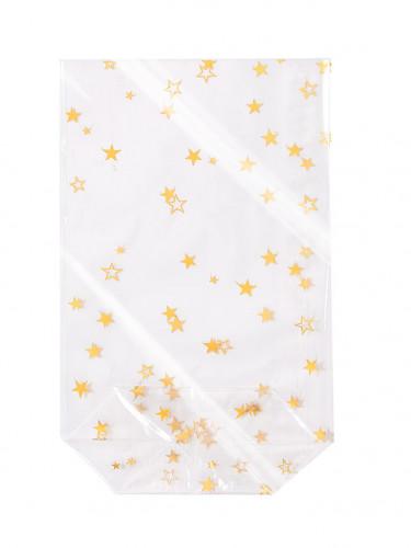 6 Sachets étoiles 11,5x18,5cm