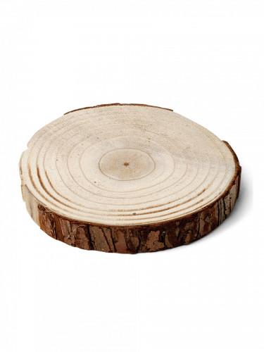 Rondin de bois naturel 23 à 28 cm
