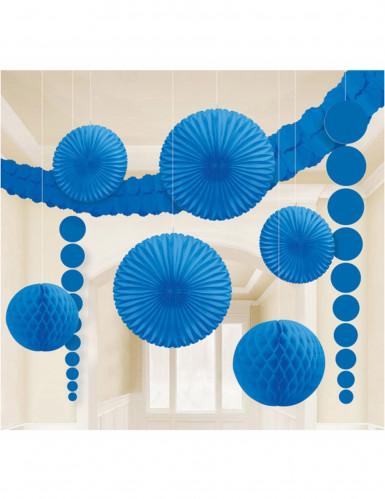 Kit de décorations bleu roi