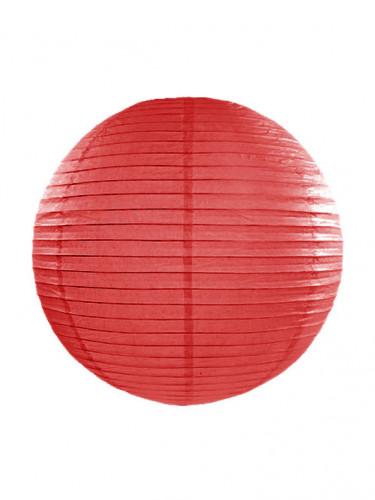 Lanterne japonaise rouge 35 cm