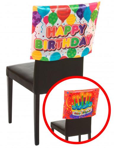 Housse de chaise Happy Birthday 38 x 48 cm-1