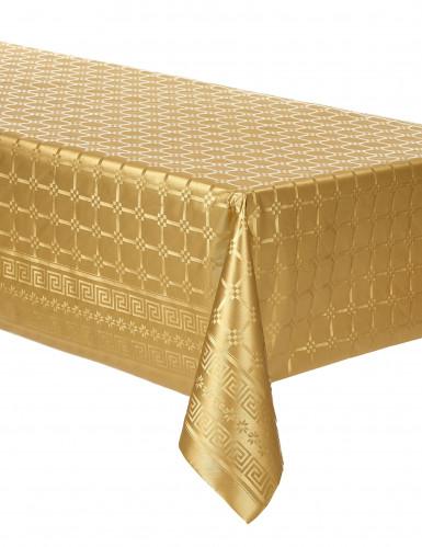 Nappe en rouleau papier damassé doré 6 m