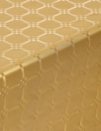 Nappe en rouleau papier damassé doré 6 m-1