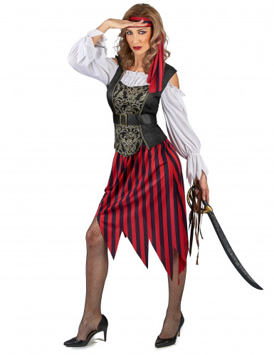 Déguisement Pirate gipsy femme-1