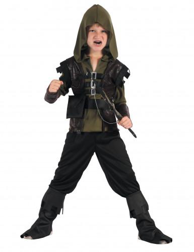 Déguisement chasseur archer garçon