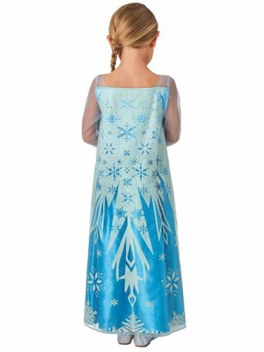 Déguisement classique Elsa Frozen La reine des Neiges™ enfant-1