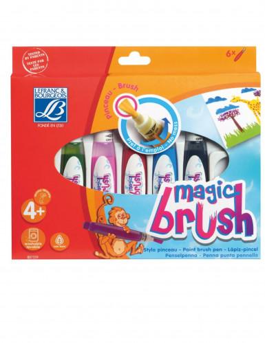 6 pinceaux à réserve de peinture Magic Brush 15 ml Lefranc & Bourgeois®