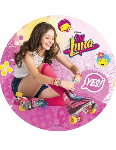Disque en azyme Soy Luna™ modèle aléatoire 20 cm-1
