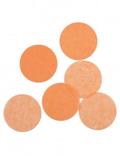 Confettis en papier ignifugé pêche 100 gr-1
