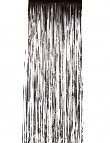 Rideau scintillant noir 244 x 91 cm