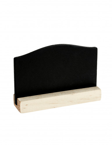4 Marque-places ardoise 7,6 x 5,5 cm